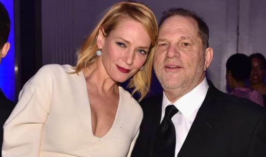 Uma Thurman habla de Harvey Weinstein y Quentin Tarantino