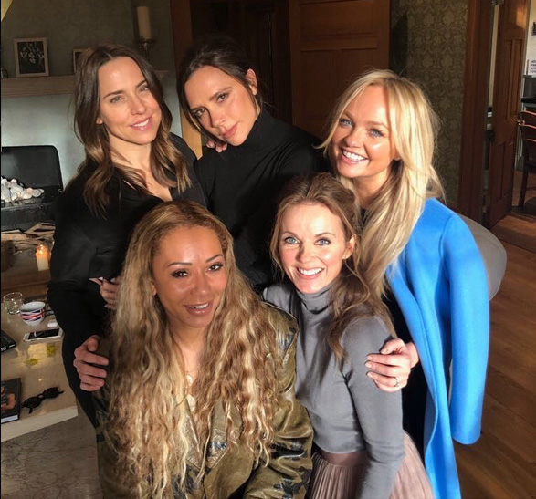 Spice Girls reunidas!! Foto!! Viene una verdadera reunión??