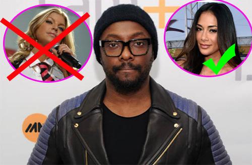 WillIAm: Nicole Scherzinger podría reemplazar a Fergie en Blac Eyed Peas - AGAIN!