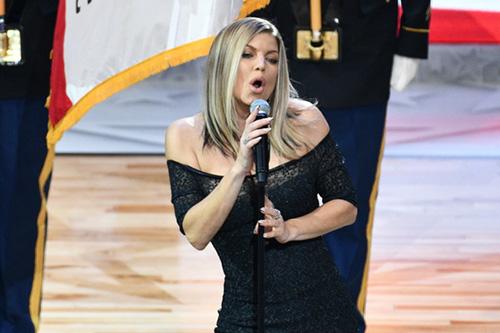 Fergie habla de Black Eyed Peas? Casi
