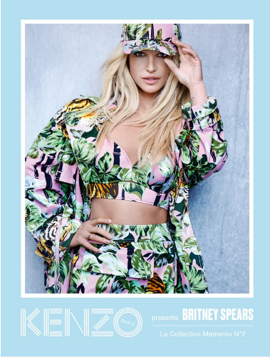 Britney Spears imagen Kenzo - STUNNING!