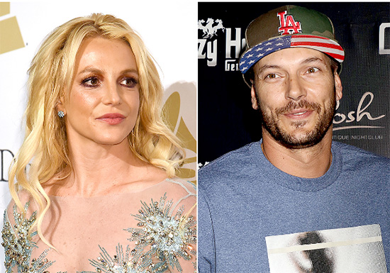 Britney Spears molesta por la batalla de manutención con Kevin Federline