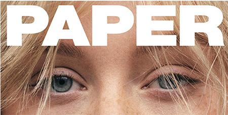 Christina Aguilera sin maquillaje en Paper magazine IRRECONOCIBLE!
