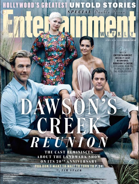 El elenco de Dawson's Creek se reúne para su 20 aniversario