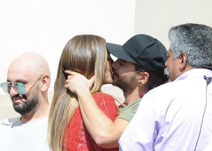 Heidi Klum se besa con Tom Kaulitz de Tokyo Hotel, Romance?