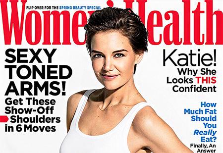 Katie Holmes competitiva con otras madres en las redes (Women's Health)