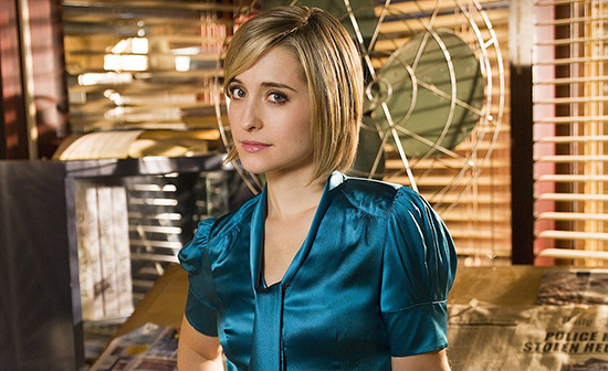 Smallville, Allison Mack arrestada por conexión con culto sexual
