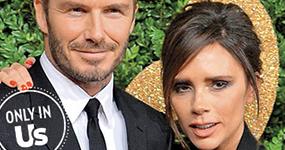David y Victoria Beckham viven vidas separadas, pero les funciona!