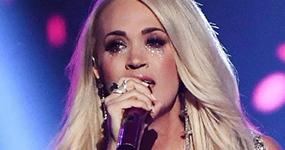 Carrie Underwood aterrorizada por cicatrices de su cara en los ACM Awards!