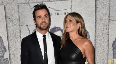 Jennifer Aniston casi casi se encuentra con Justin Theroux!