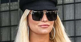 Jessica Simpson en NY, embarazada por tercera vez?