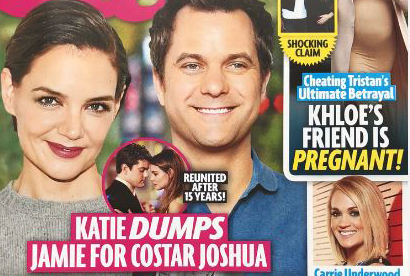 Katie Holmes bota a Jamie Foxx por Joshua Jackson! (Star)