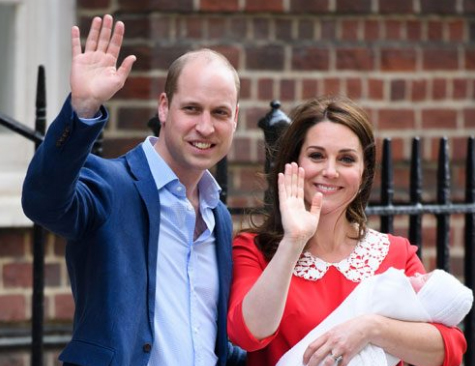 El tercer hijo del Príncipe William y Kate Middleton se llama como un One Direction