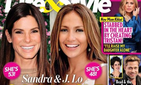 Sandra Bullock y JLo 2 bebés milagros! (Life&Style)
