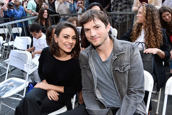 Ashton Kutcher preocupado por la delgadez de Mila Kunis?