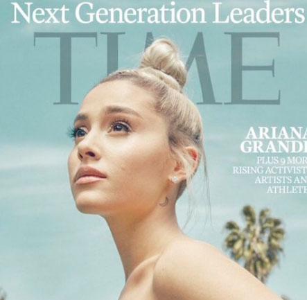 Ariana Grande y The Weeknd Líderes de la próxima generación TIME