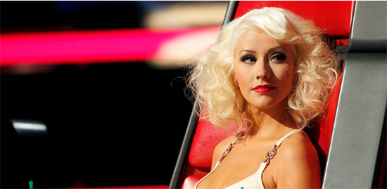 Christina Aguilera: The Voice ya no es sobre música. HA! Accelerate!