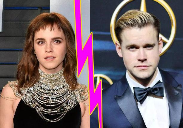 Emma Watson y Chord Overstreet terminaron!