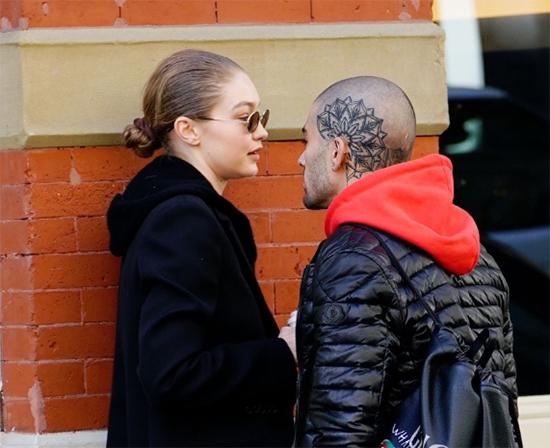 Gigi Hadid y Zayn Malik besándose! Volvieron!