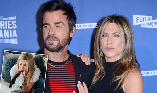 Jennifer Aniston y Justin Theroux peleando la custodia de sus perros?