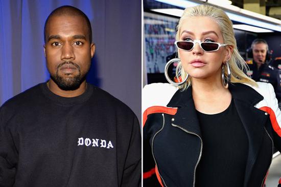 Christina Aguilera colabora con Kanye West en una canción! LOL!