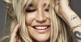 Kesha habla de superar los problemas con su peso en Cosmopolitan