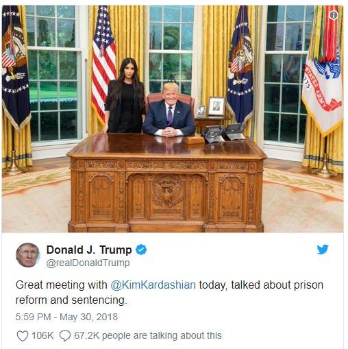 Kim Kardashian habla de su visita a la Casa Blanca y reformas carcelarias