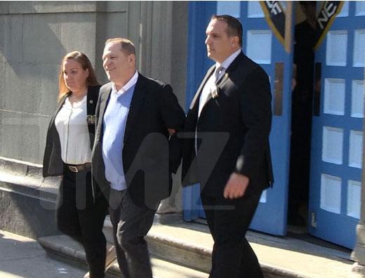 Harvey Weinstein acusado con cargos de violación y abuso sexual
