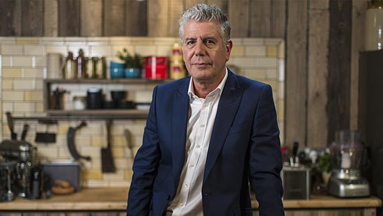 Chef Anthony Bourdain muere a los 61