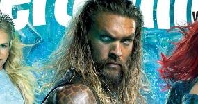 Jason Momoa como Aquaman – Entertaiment Weekly