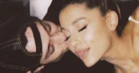 El novio de Ariana Grande se hace dos tatuajes en su honor