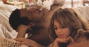 Beyonce desnuda en la cama con Jay Z – OTR Tour