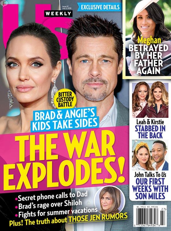 Brad & Ange: la guerra explota! (Us)