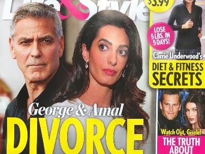 George y Amal Clooney divorcio explosivo! (Life&Style)