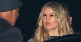 Khloe Kardashian de fiesta con Tristan Thompson!