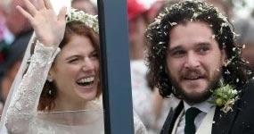 Game of Thrones, Kit Harington Rose Leslie casados! – Chismes enlatados!