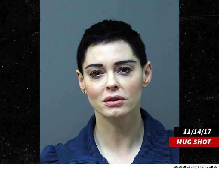 Rose McGowan acusada del cargo de posesión de drogas