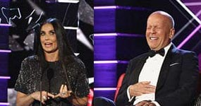 Demi Moore en el Roast a Bruce Willis – LOL!