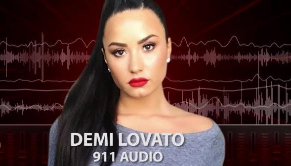 La llamada al 911 de Demi Lovato, sin sirenas, por favor!