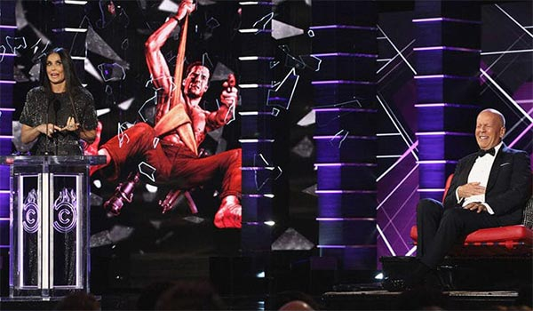 Demi Moore en el Roast a Bruce Willis - LOL!
