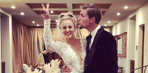 The Big Bang Theory, Kaley Cuoco se casó con Karl Cook!