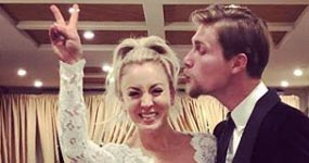 The Big Bang Theory, Kaley Cuoco se casó con Karl Cook!