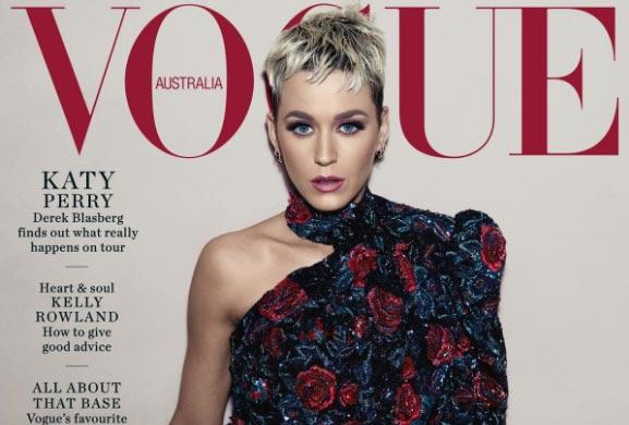 Katy Perry habla de su corazón roto y depresión (Vogue)