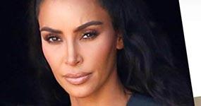 Kim Kardashian demandada por robar logo de su nuevo perfume