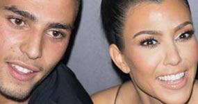 El novio de Kourtney Kardashian no sabe en lo que ella trabaja