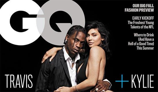Kylie Jenner, Travis Scott y su inusual relación en GQ