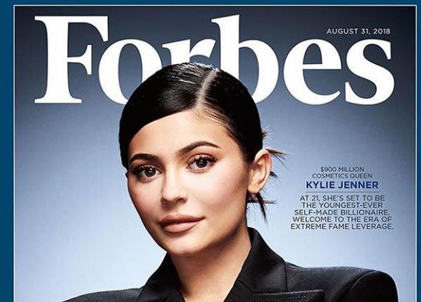 Kylie Jenner y su fortuna de $900 millones – Forbes