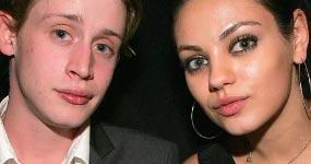Mila Kunis habló de su rompimiento con Macaulay Culkin
