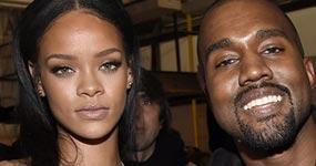 Kanye West embobado mirando a Rihanna, la reacción de Kim K. LOL!