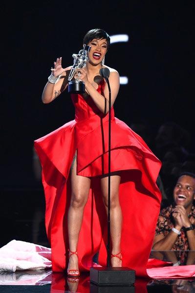 Ganadores MTV VMAs 2018 - Travis Scott lanza punta Nicki Minaj